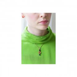 """Колье """"Алмазные россыпи"""". Длинное ожерелье из зеленых камней"""