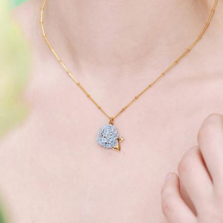 """Колье """"Диамантин"""". Ожерелье из пурпурных камней"""