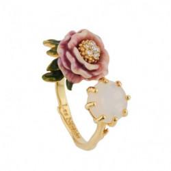 Кольцо Розовые цветы и...