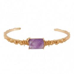 Браслет Фиолетовый камень и...