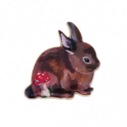 """Брошь Сад Натали"""" Кролик и..."""